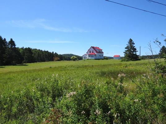 House and meadow on Campobello Island, NB
