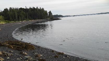 Campobello beach view