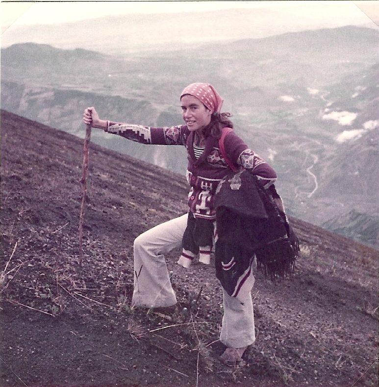 Climbing Mount Tungurahua, Ecuador, 1981
