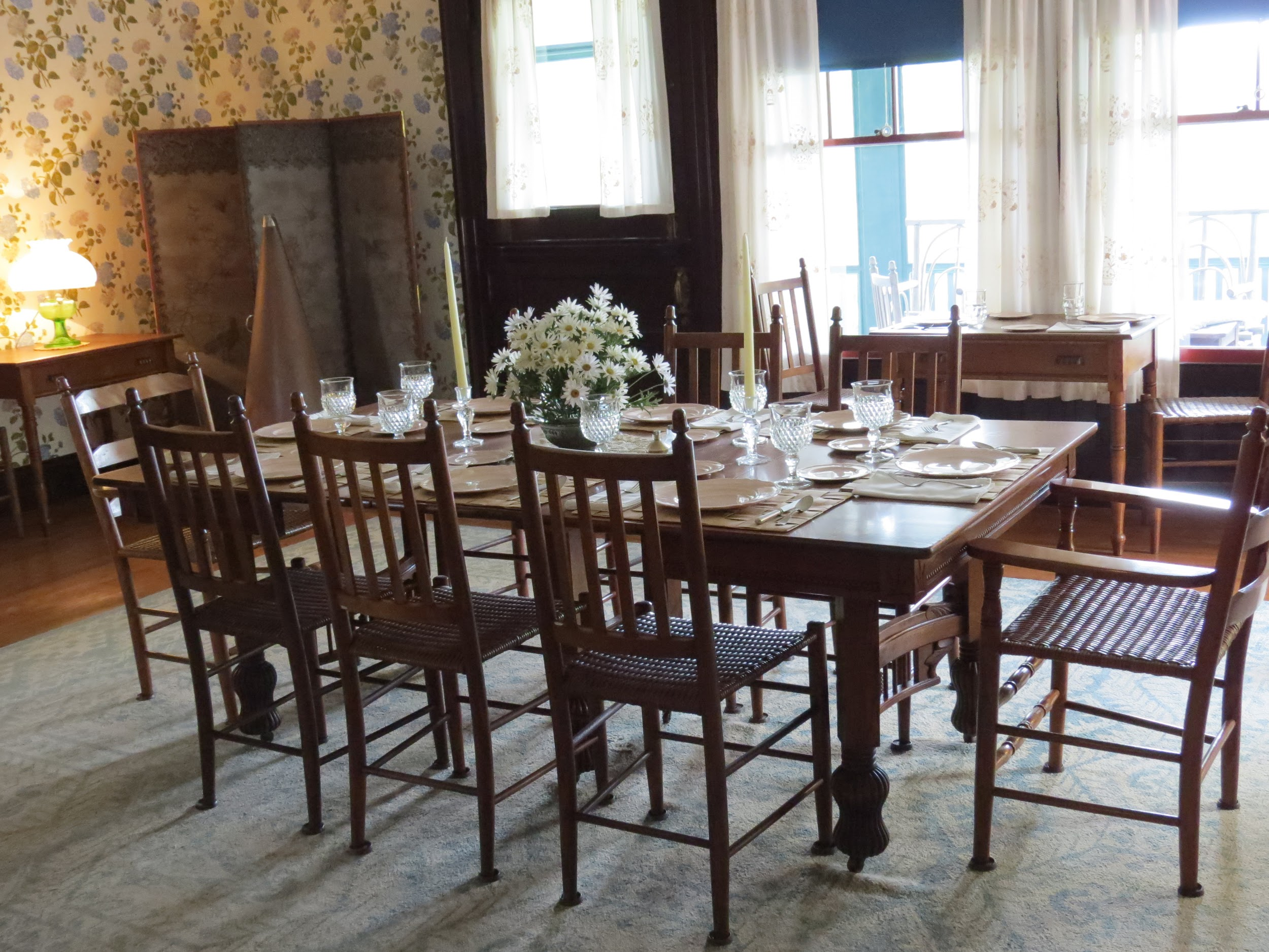 Roosevelt's dining room , Campobello Island, NB