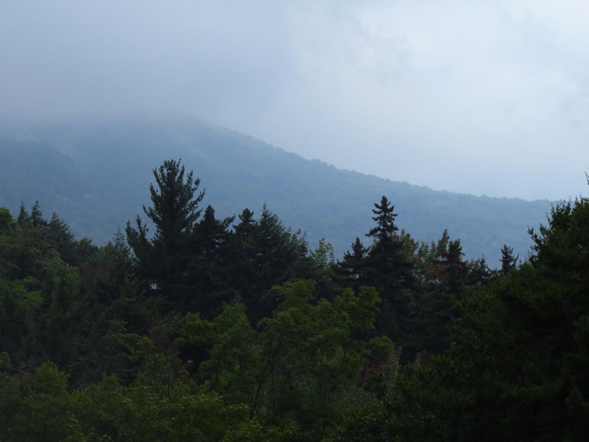 Before the storm, Kancamagus, White Mountains