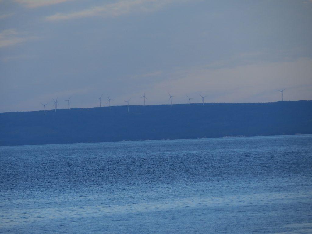 Wind turbines on way to PEI
