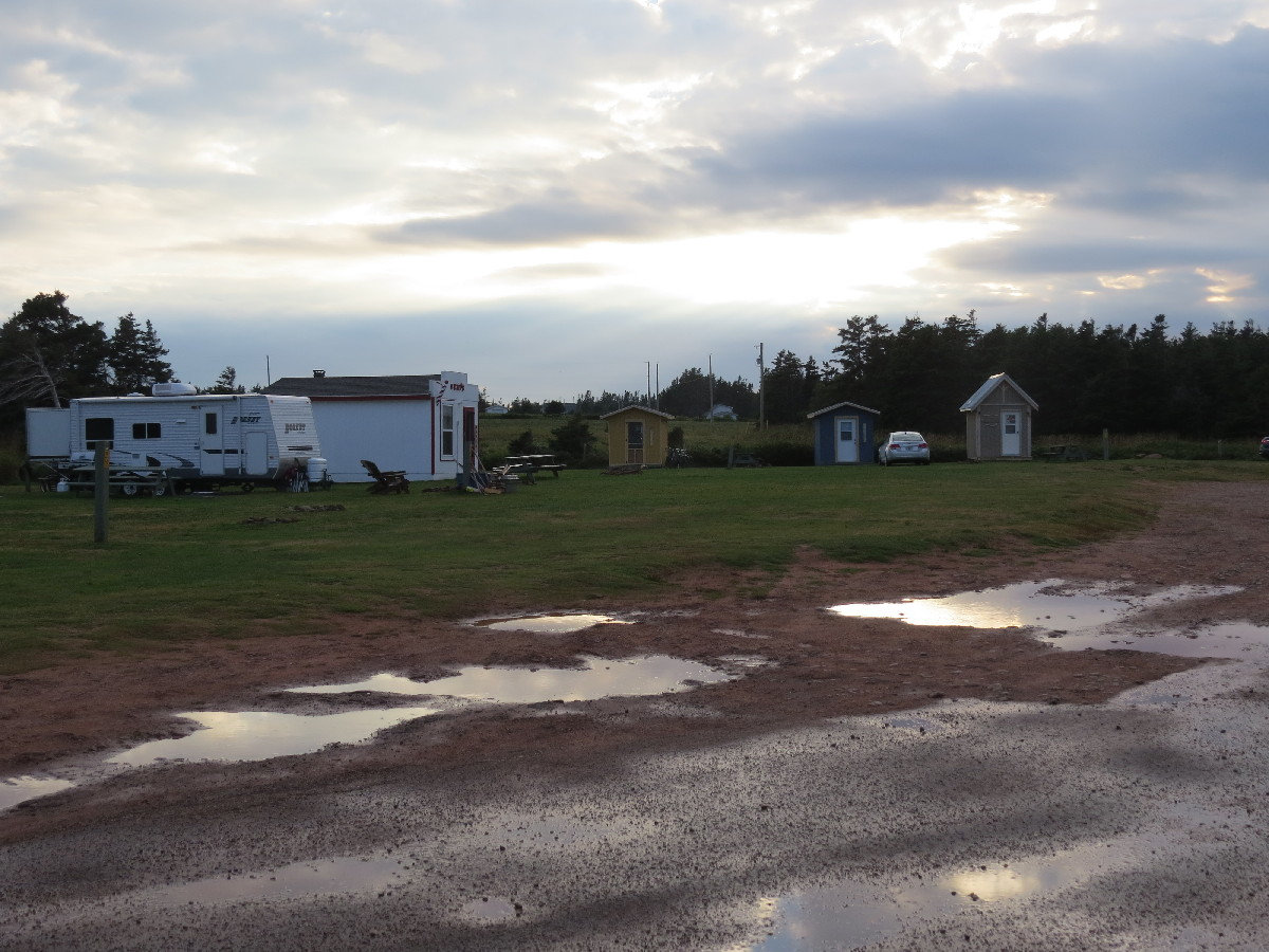 Campbell's Cove campground, PEI