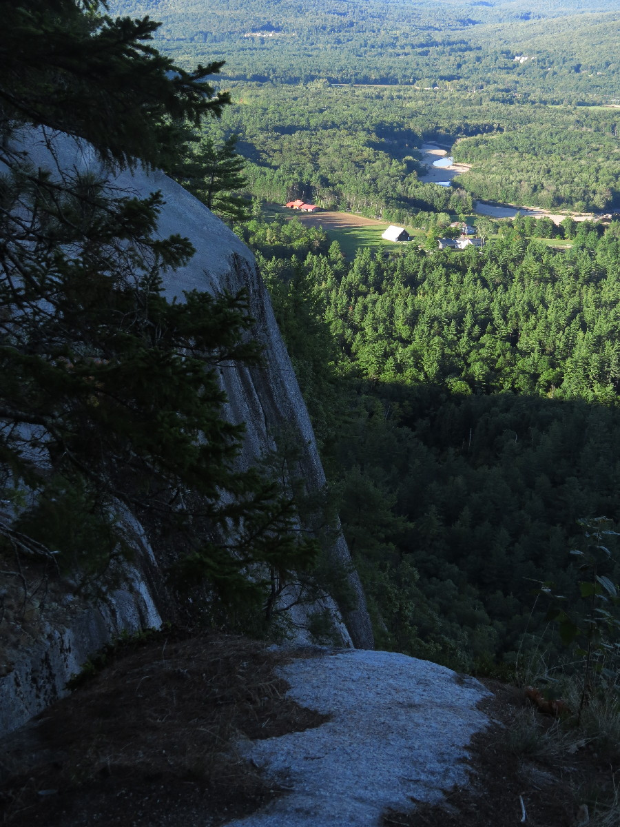 The cliffs. Cathedral Ledge , White Mountains,  NH