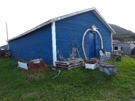 Whalers house, Trout River, Newfoudnland