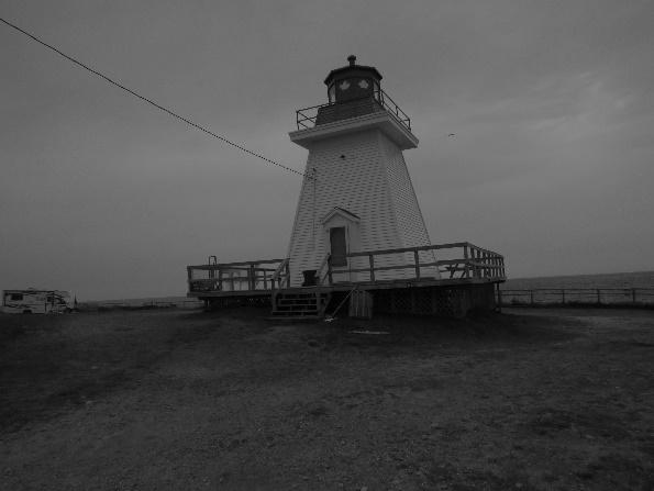 Neil's Harbor lighthouse, Cape Breton's east coast