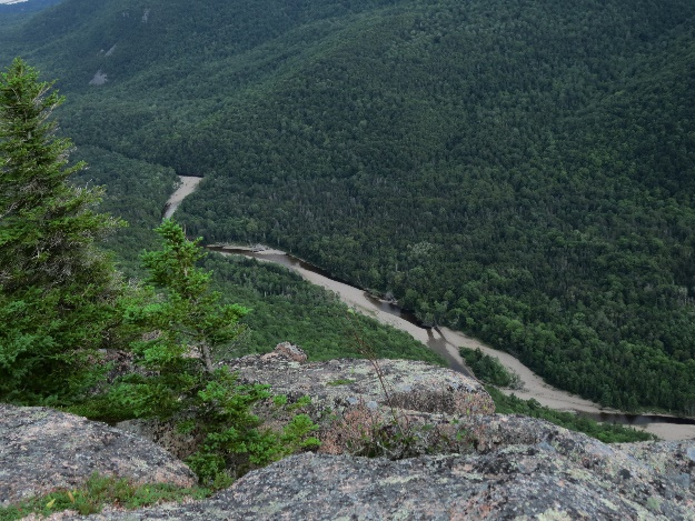 Clayburn River valley viewed from Mount Franey, Cape Breton
