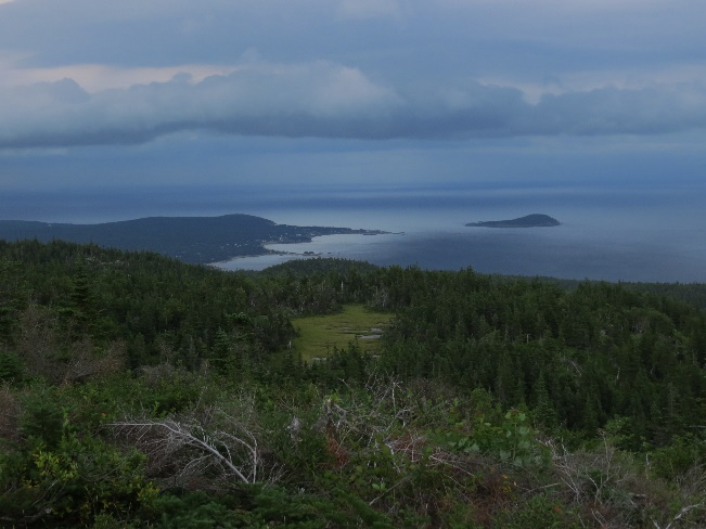 Middlehead Peninsula viewed from Mount Franey, Cape Breton