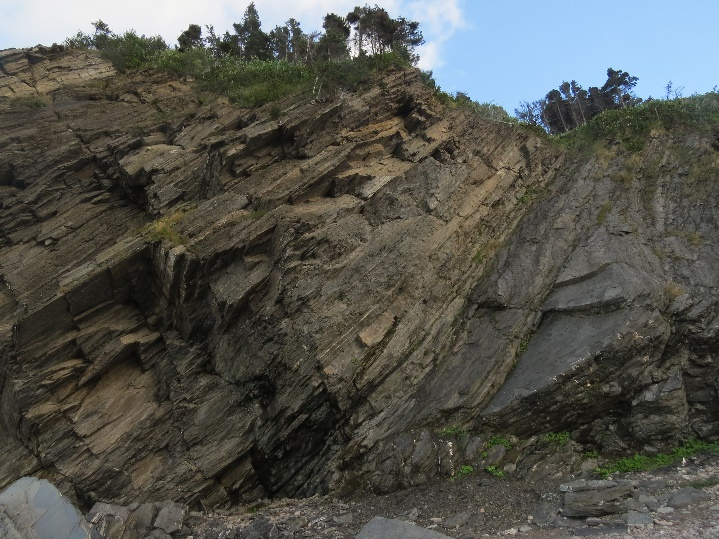 Cliffs, Meat Cove, Cape Breton