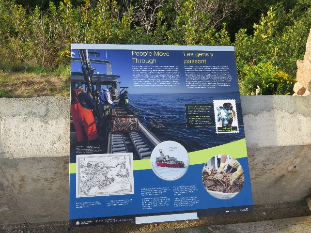 Cabot Trail lookouts explanatory panels