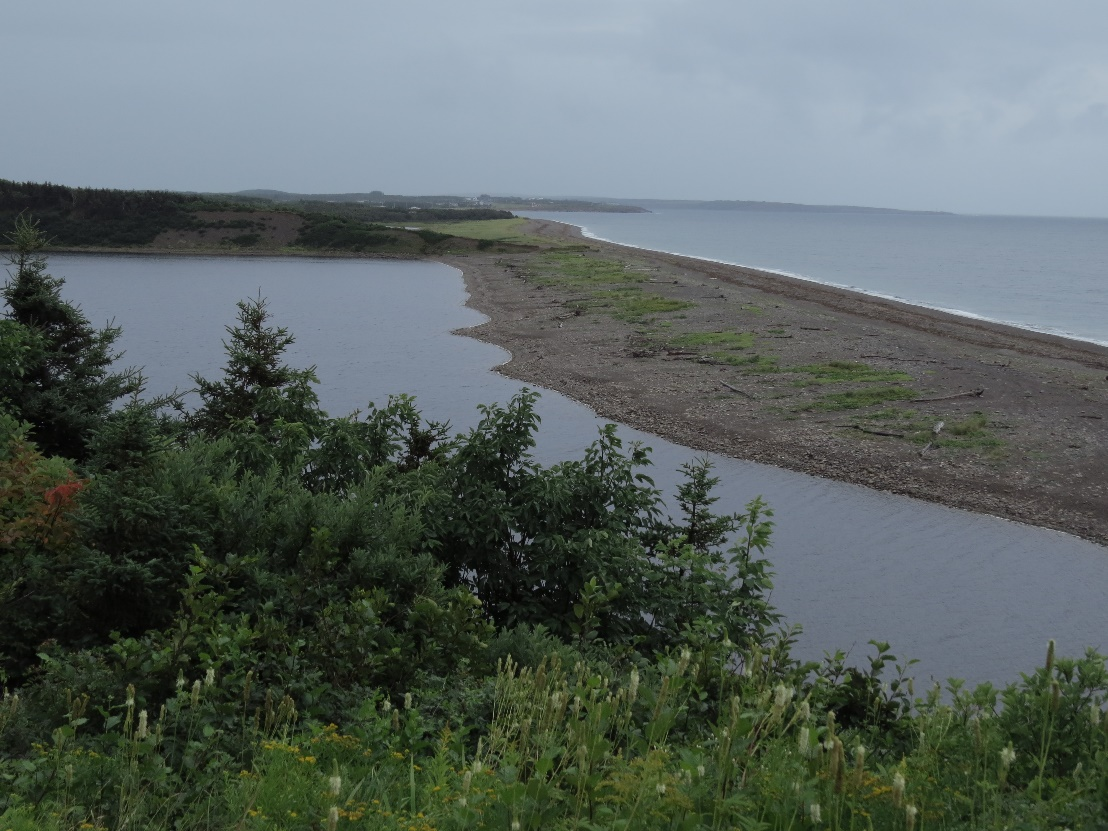 River and sea by Le Buttereau, Western Cabot Trail