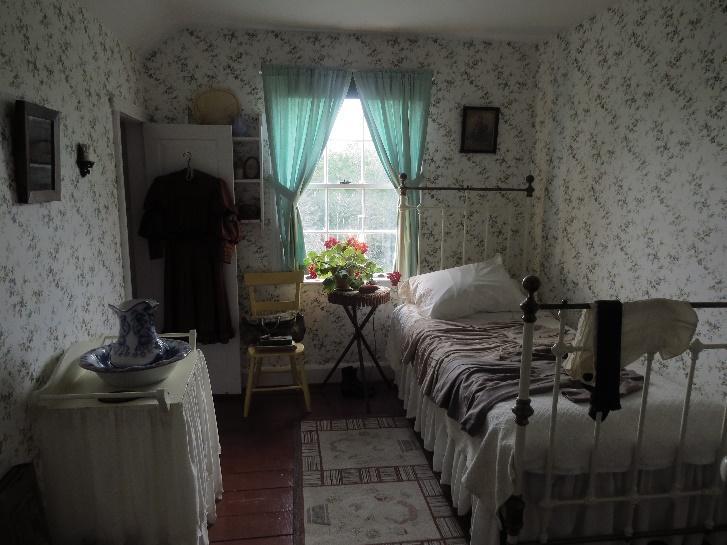 Bedroom, Cavendish, Green Gables, Cavendish museum
