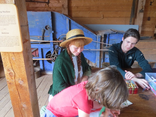 Arts and crafts with Anne of Green Gables, Cavendish