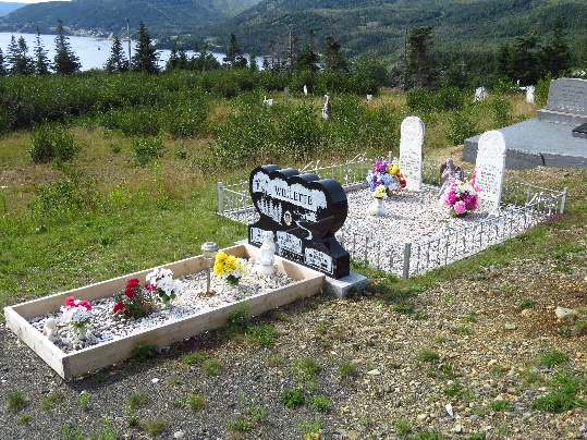 Anglican cemetery, Woody Point, NL