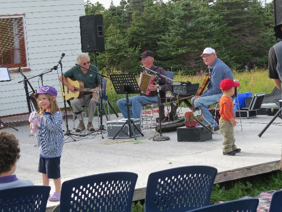 At the kitchen party by the lighthouse, Gros Morne