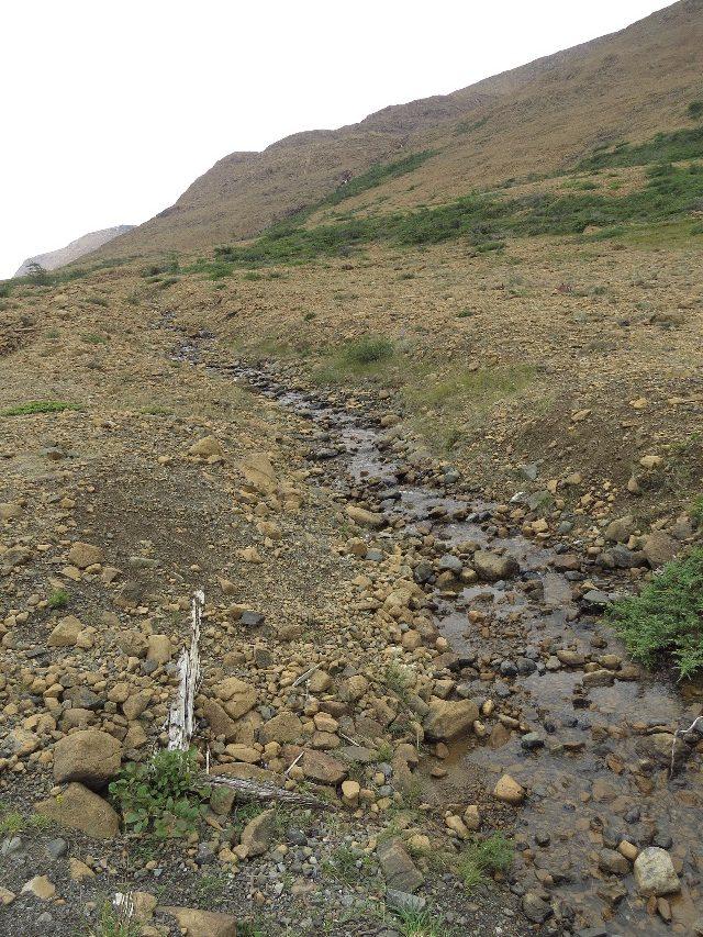 A small stream, The Tablelands, Gros Morne National Park, NL