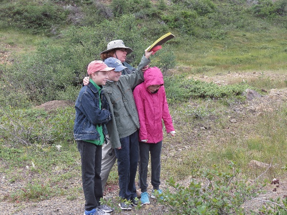 The formation of a super continent, live demo with kids, The Tablelands, NL