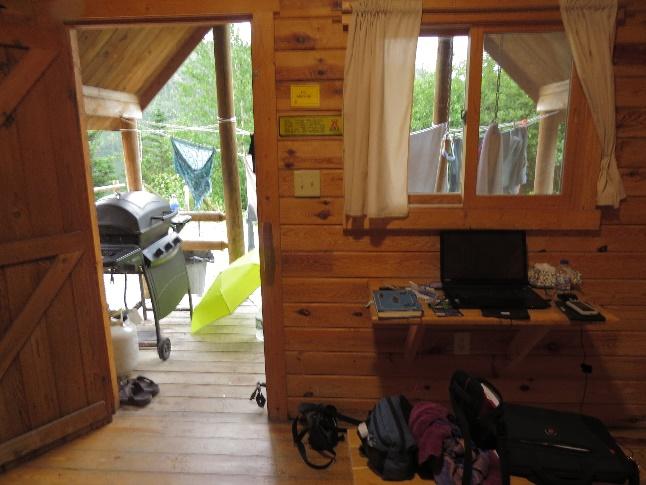 Dry cabin, Gros Morne KOA, NL