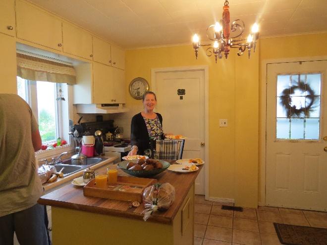 Morning at Morgan's Bed and Breakfast, Shediac, NB