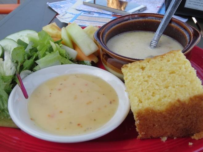 Good, earthy food at Tan Turtle Tavern, Mount Desert Island, ME