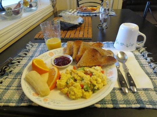 Yummy! At Morgan's Bed and Breakfast, Shediac, NB