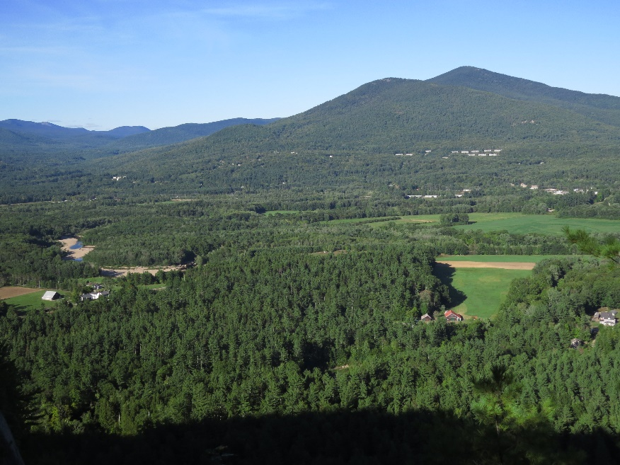 Vista from Cathedral Ledge, White Mountains