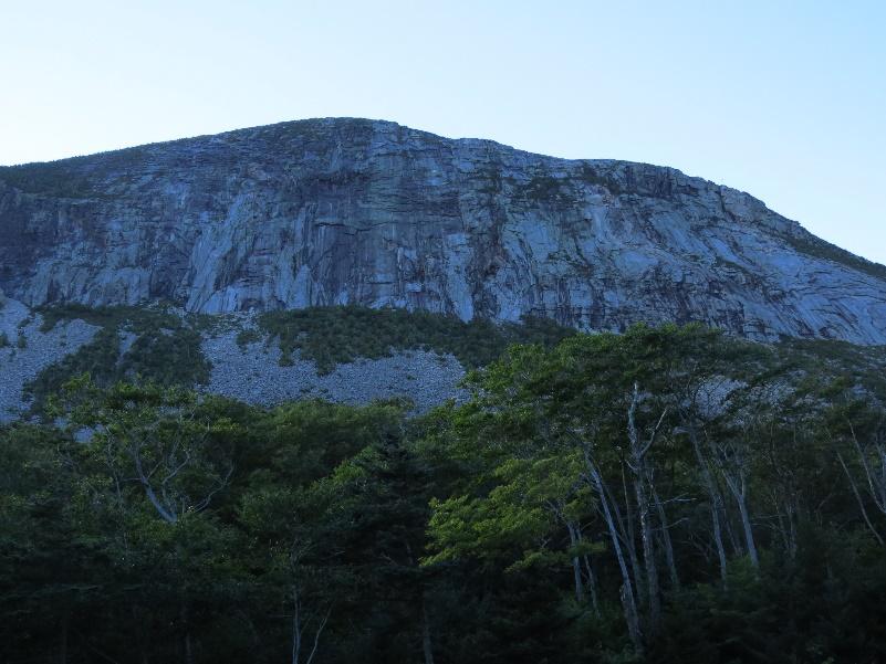 Franconia Notch area, White Mountains