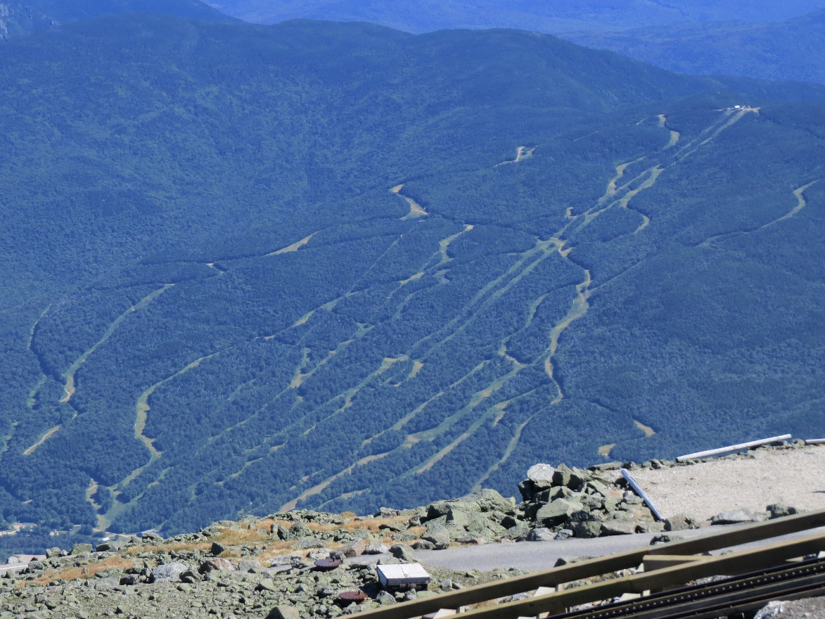 Ski slopes, Mt. Washington