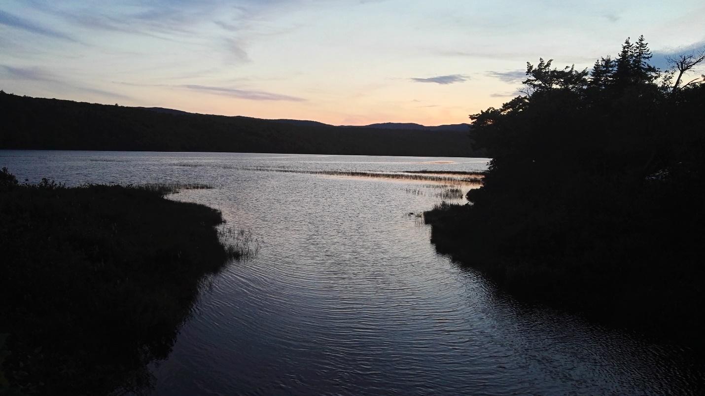 Warren Lake at twilight, Ingonish National Park