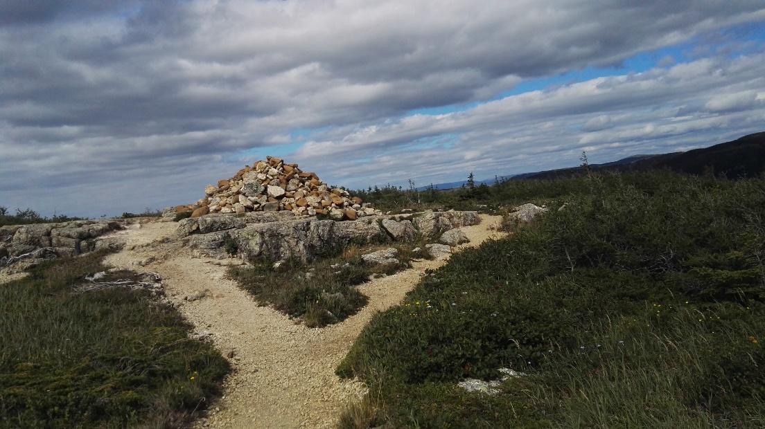 Landmark, the Tablelands, Gros Morne, NL