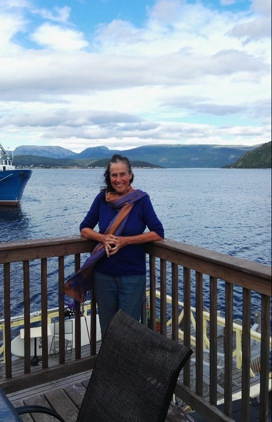 At the Old Loft overlooking Bonne Bay, Woody Point, Newfoundland