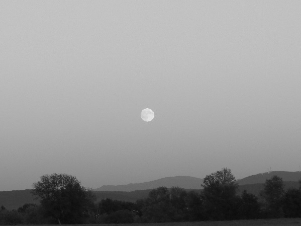 Moonrise over Grand Isle, VT