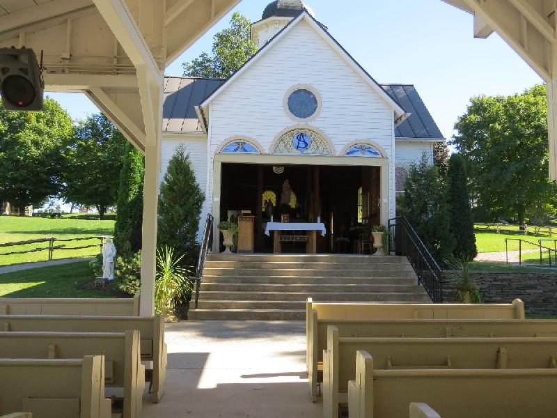 St. Anne's shrine, Isle La Motte, VT