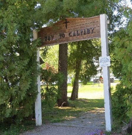 Way to Calvary on Isle La Motte