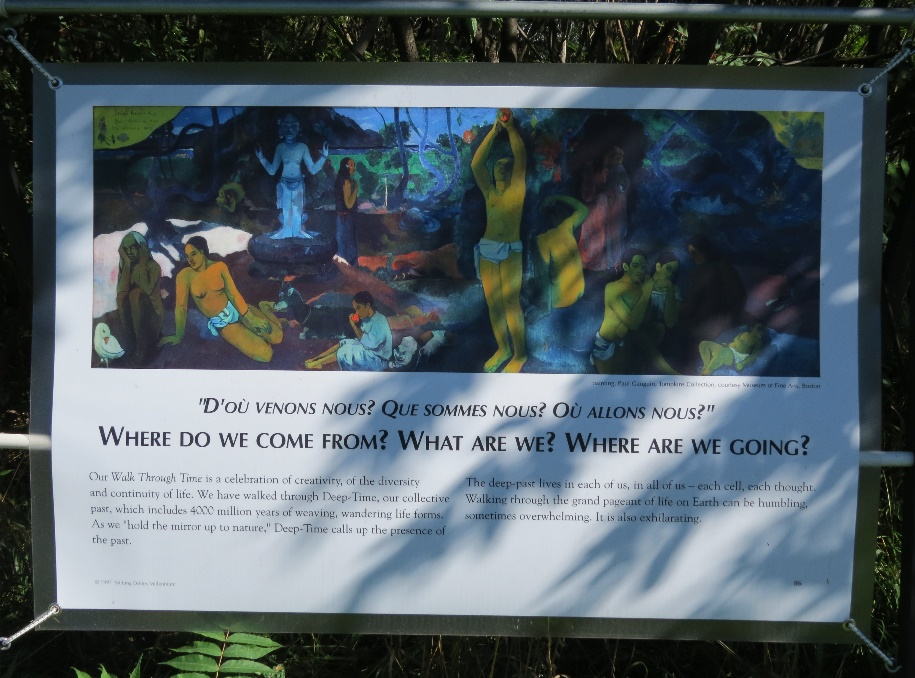 Gaugin's masterpiece: Where do we come from?