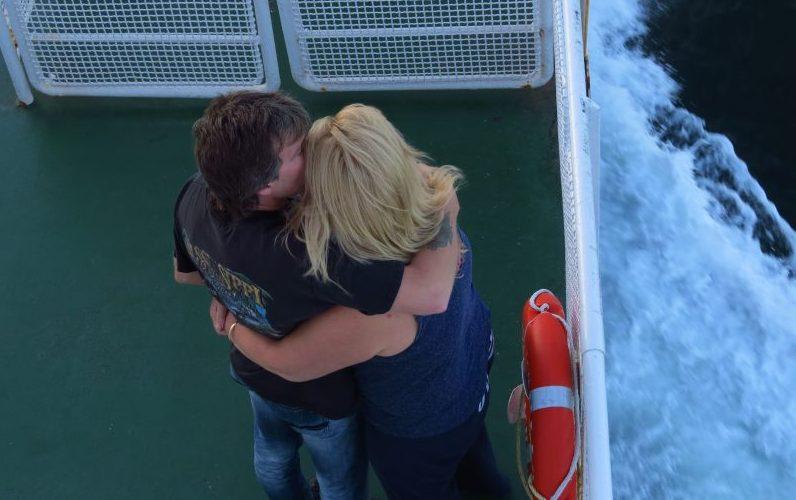 On ferry to PEI