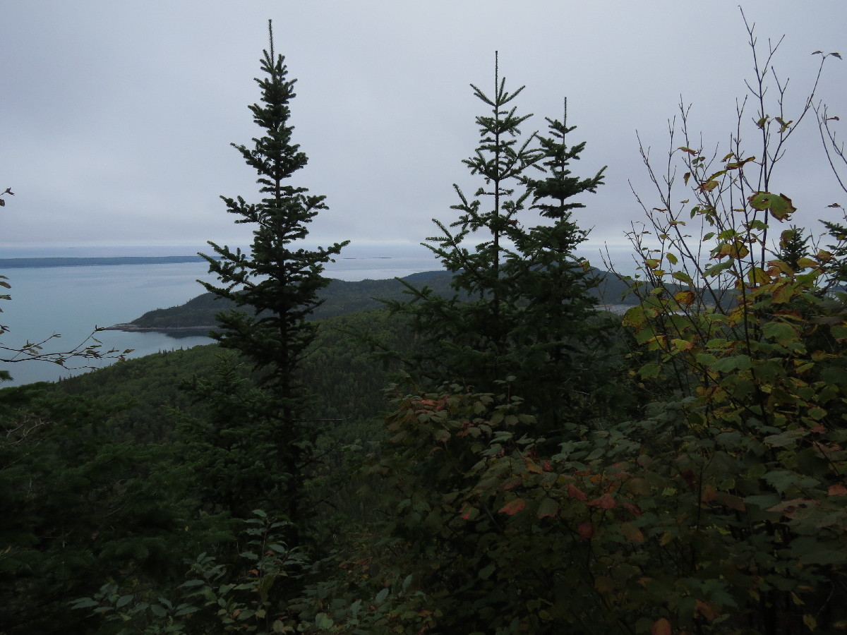 A view from Pic Champlain, Parc National du Bic, Quebec