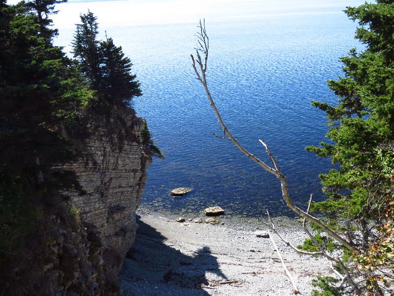 Seal beach, Les Graves, Forillon National Park, QC, Gaspe Peninsula