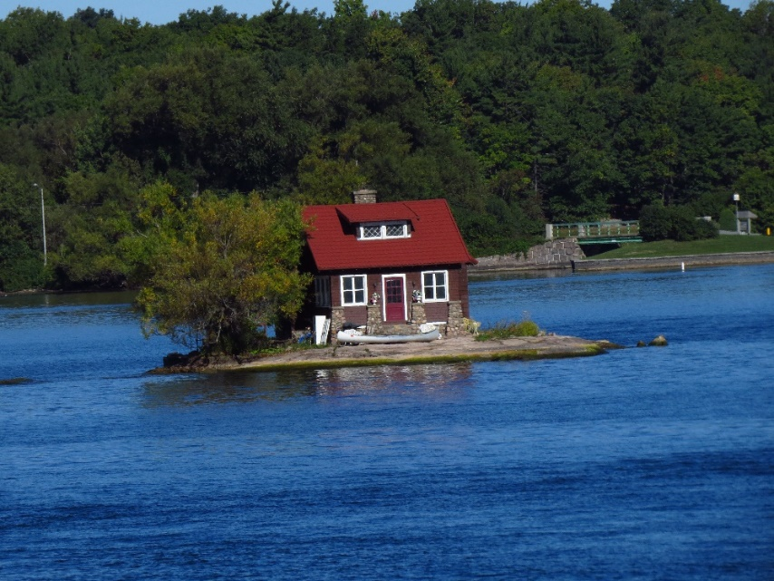 Can't get cuter - one of a 1000 islands, NYS