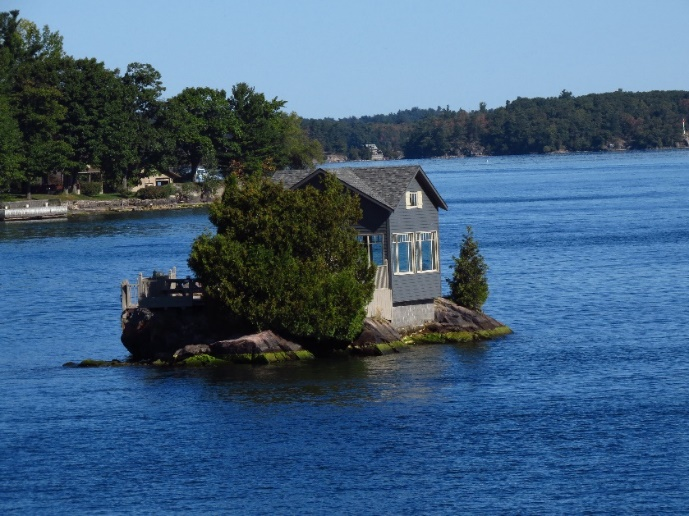 One island out of a 1000, Upper NYS