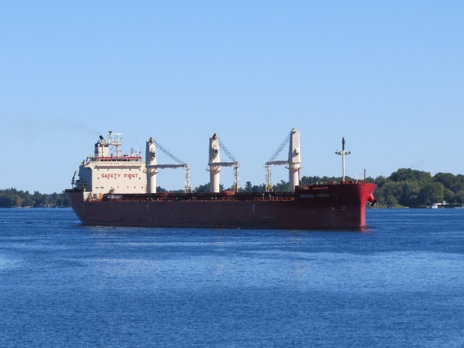 Sailing the St. Lawrence