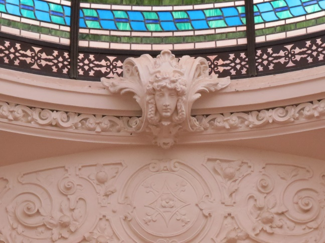 Inside Boldt Castle - ornamentation