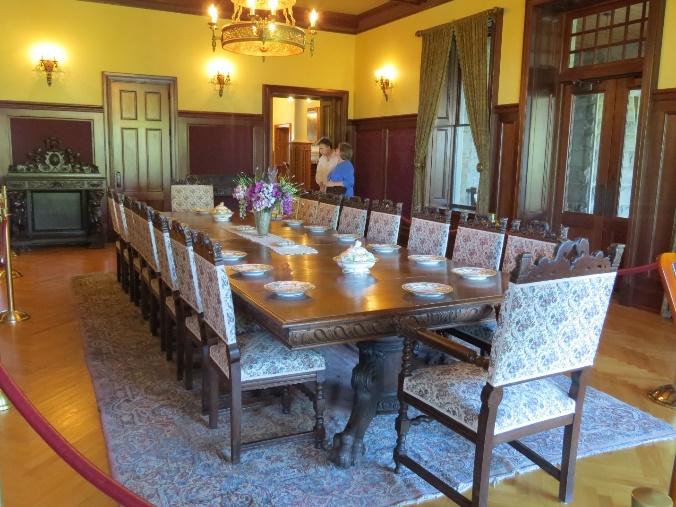 Dining room, Boldt Castle, Uncle Sam Boat Tours, 1000 Islands