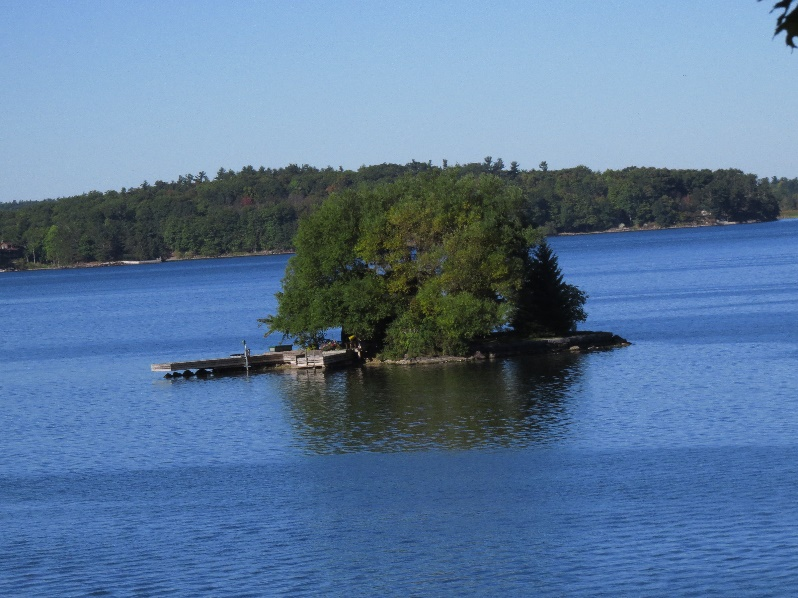 One cute island out of 1000, The Narrows, Wellesley Island Nature Center, NYS