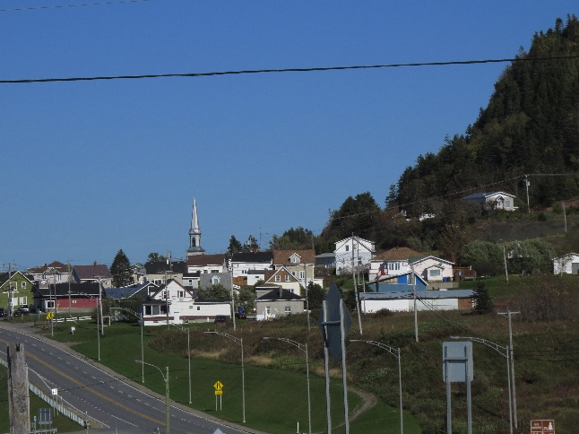 Villages along Route 132, Gaspe Peninsula, QC