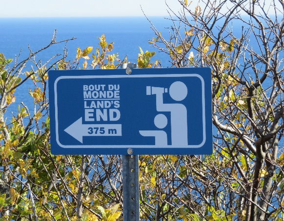 Land's End this way... Forillon National park, QC, Gaspe Peninsula