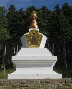 The stupa, Gampo Abbey, Cape Breton