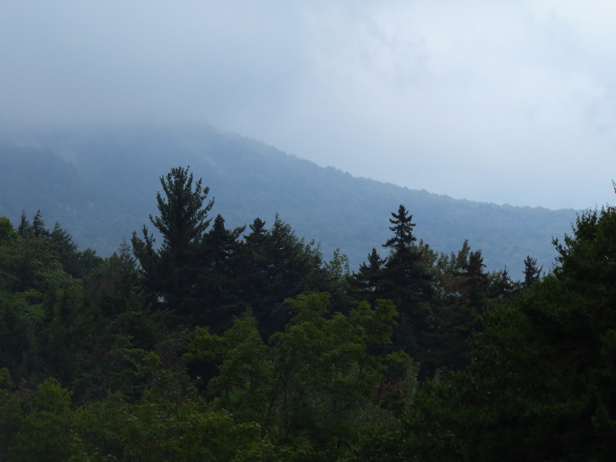 Before the storm, Kancamagus, White Mountains, NH