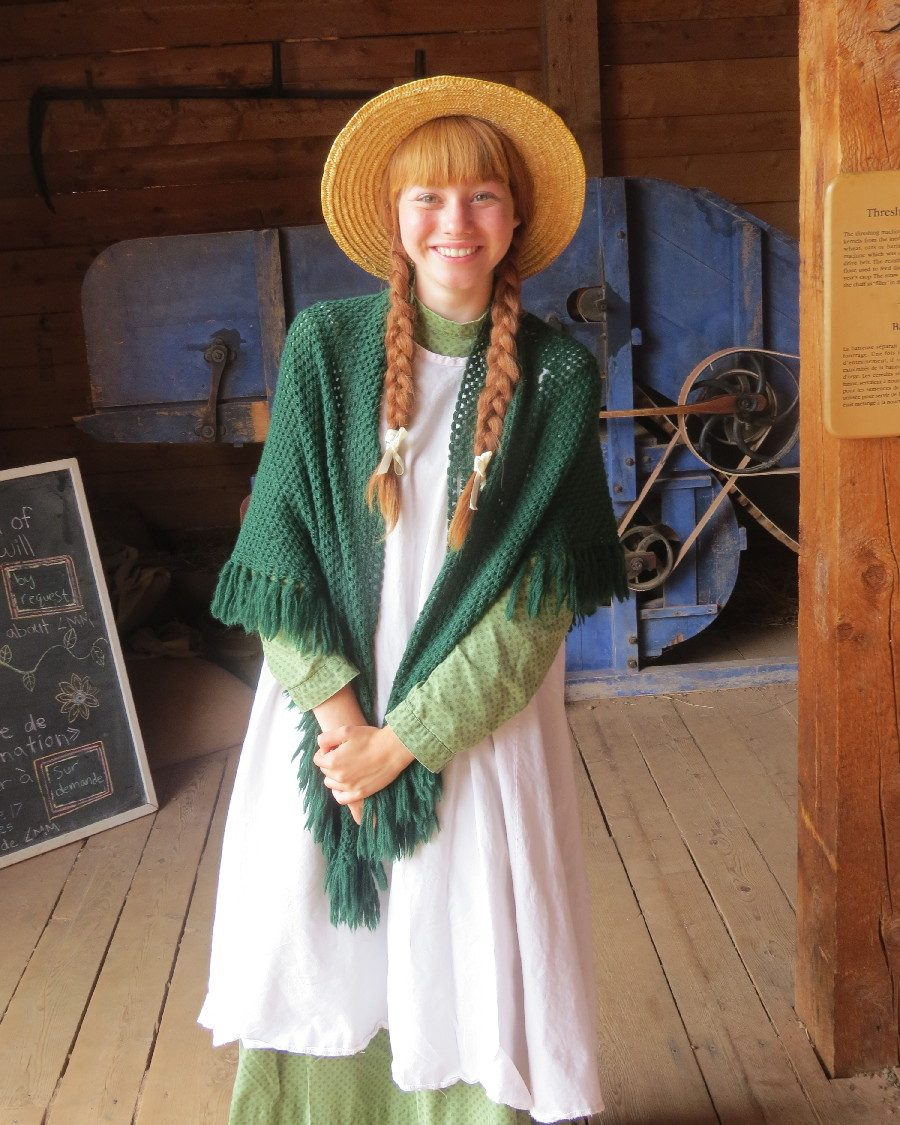 Anne of Green Gables on site, Cavendish, PEI
