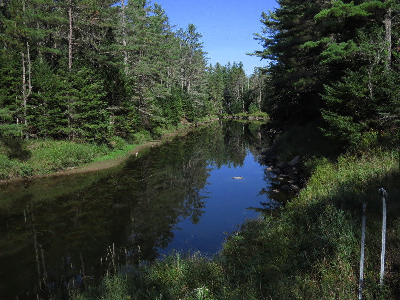 As scenic as it gets. Ausable River on route 86 to Mount Whiteface, NYS